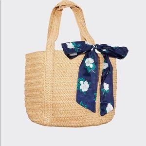 Draper James Everyday Straw Bag